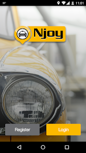 Njoy Cabs- Book City Ride Taxi screenshot 0