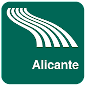 Alicante Map offline