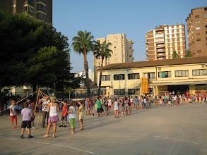 Photo: Visita de la Flama del Correllengua al Col·legi Lluís Revest de Castelló de la Plana. Divendres 30 de setembre del 2011.