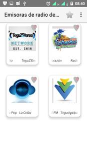 Radios FM Honduras - náhled