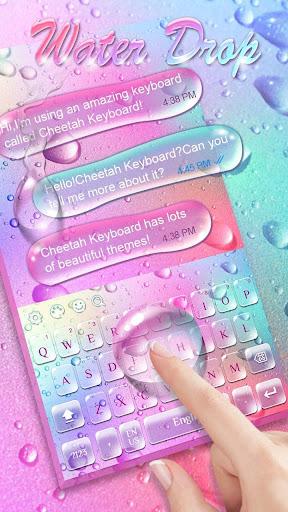 Colorful Water keyboard 10001008 Screenshots 2