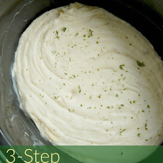 3-Step Crock Pot Mashed Potatoes