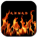 Fire Name Art 3D icon