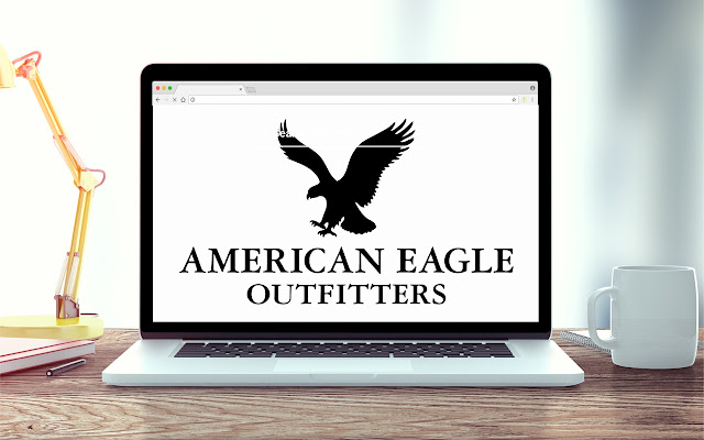 American Eagle New Tab Clothing Theme