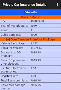 Motor Insurance Calculator Free App Download For Android 5