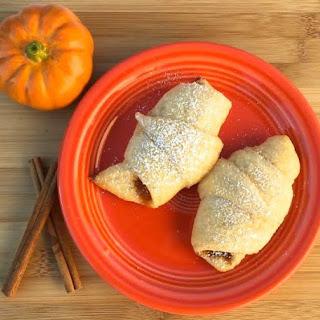 Pumpkin Crescent Rolls! (Just 3 Ingredients)