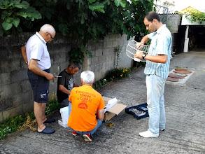 Photo: Avelino EA1EPH JuanFran EA1EOL, Vicente EA1IDQ y Carlos EA1HUD.