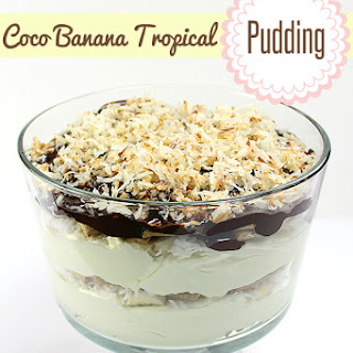 Coco Banana Tropical Pudding