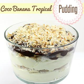 Coco Banana Tropical Pudding.