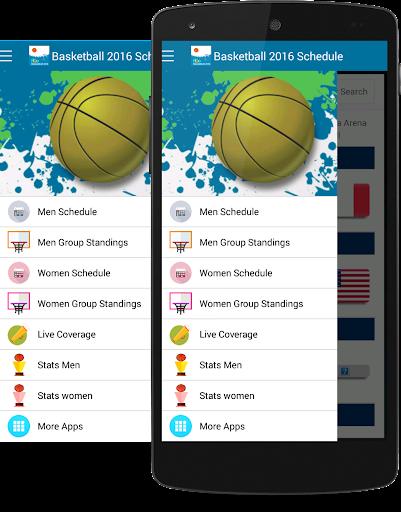 Rio Basketball 2016 Schedule