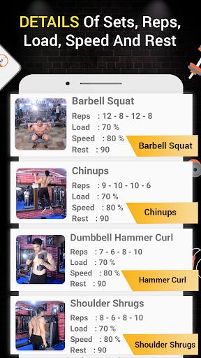 Pro Gym Workout (Gym Workouts & Fitness) 5.4 Screenshots 8