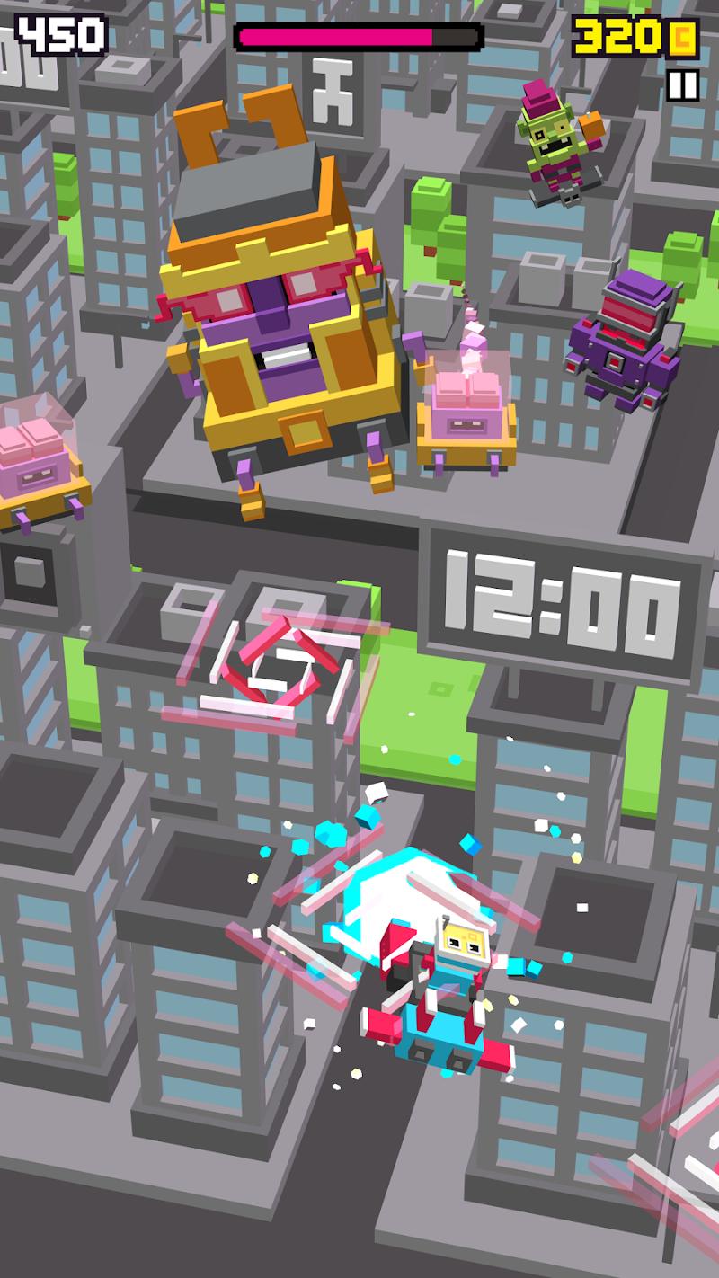 Shooty Skies - Arcade Flyer Screenshot 2
