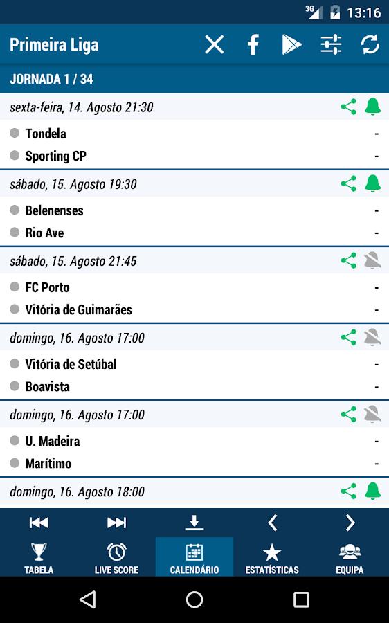 Primeira Liga- screenshot