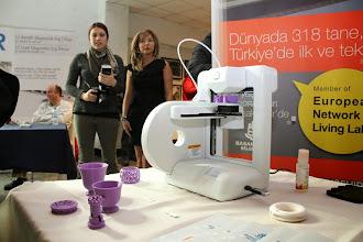 Photo: 3D printer katılımcılardan büyük ilgi gördü