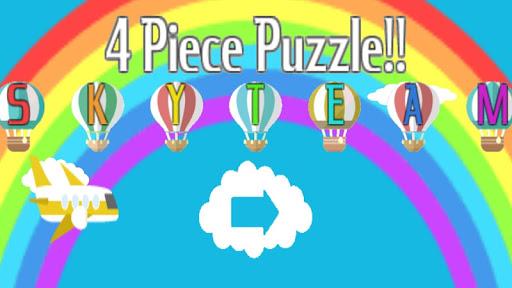 4-塊兒童的拼圖
