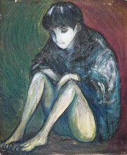 Photo: 冷たい床 / canvas, oil, 1995  SOLD OUT