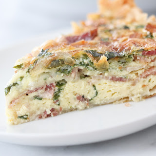 Spinach Bacon Swiss Cheese Quiche Recipes