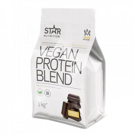 Star Nutrition Vegan Protein Blend 1kg - Chocolate