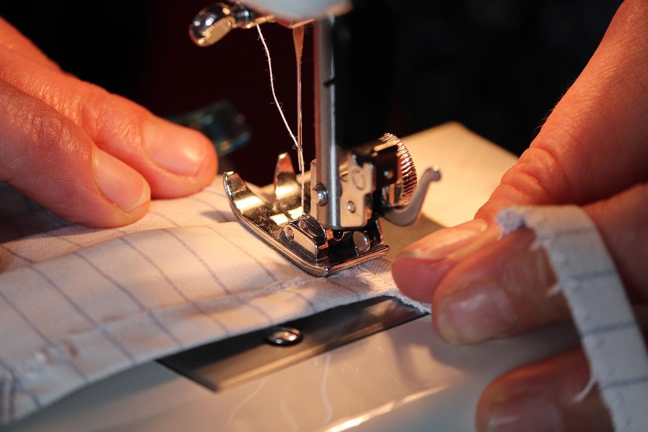 A DIY-er sews horse clothes to save money