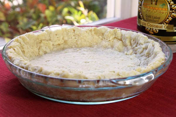 Coconut Oil Pie Crust Recipe