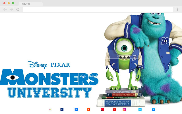 Monsters University Movies New Tabs HD Themes