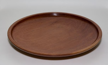 "Photo: Elliot Schantz - 20"" eastern red cedar platter"