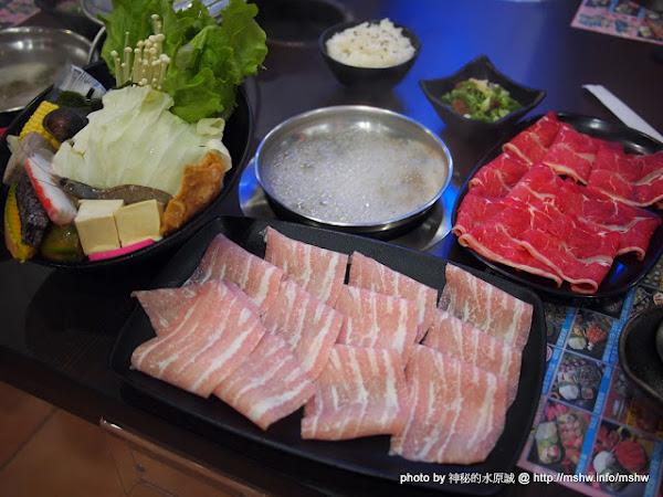 台中大甲-鍋神庭園日式涮涮鍋 : 料好實在超滿足!