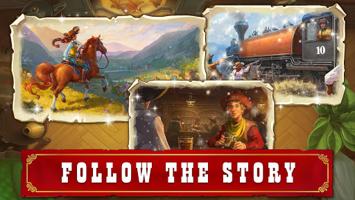 Jewels of the Wild West: Match gems & restore town android2mod screenshots 11