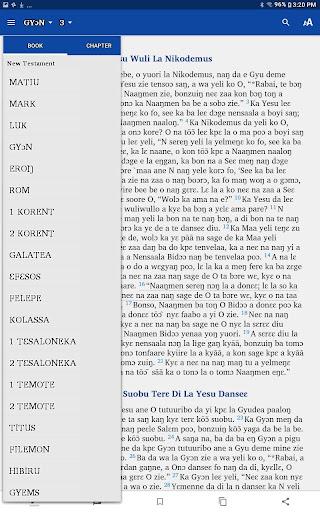 Dagaara New Testament screenshot 4