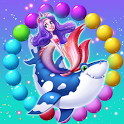 Mermaid Rescue Fish Pop Shooter 🐬 icon