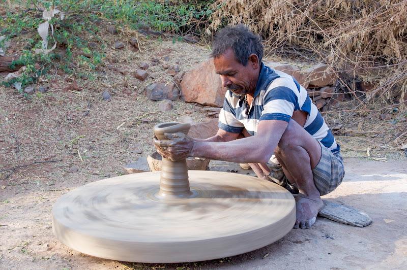 Bundi, Rajastan, Mather India. di Cristhian Raimondi