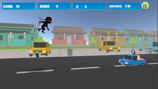 City Ninja Adventure Fight-Ninja Fighting Zombies - náhled