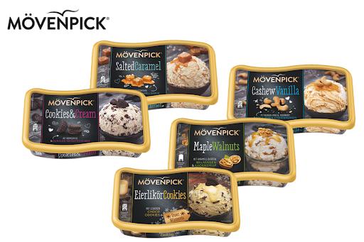 Bild für Cashback-Angebot: Mövenpick Hauspackungen - alle Sorten - Mövenpick