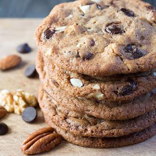Peanut Butter Chocolate Chip Walnut Cookies Recipes
