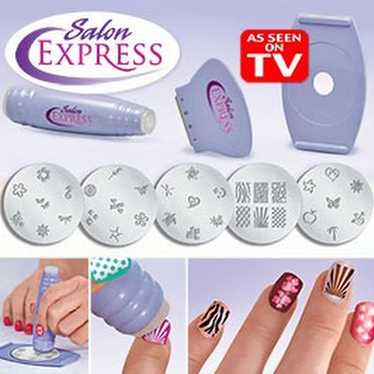 Salon express Nail stamping nail art set BY Supermodels Secrets ...