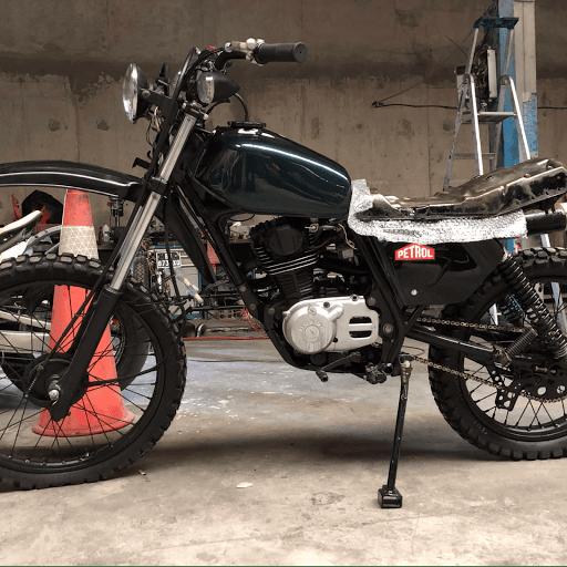 Honda Xls 125 renovation, préparation, Inks & tools, Paris
