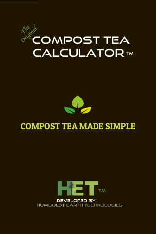 Screenshot for Compost Tea Calculator in United States Play Store