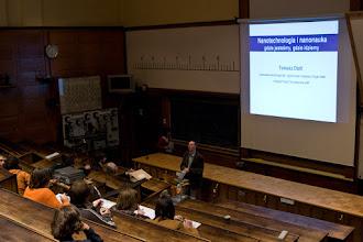 Photo: wykład prof. T. Dietla