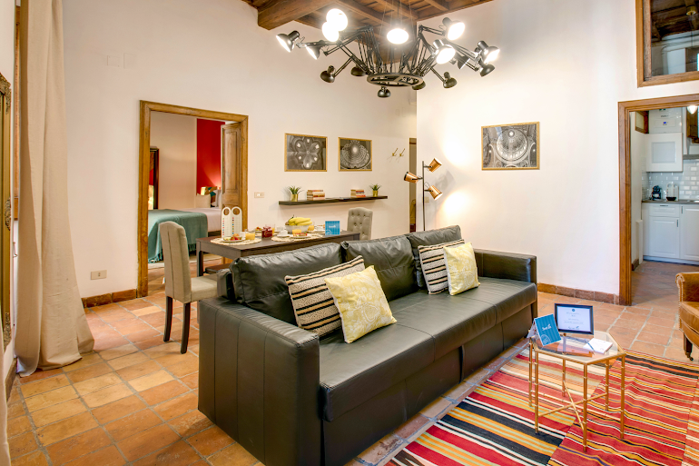 Living room at Vaccarella