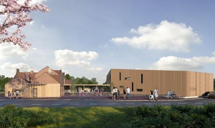 First glimpse of 'new Maesydre'