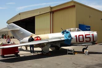 Photo: MiG-15 dostává novou dočasnou kamufláž