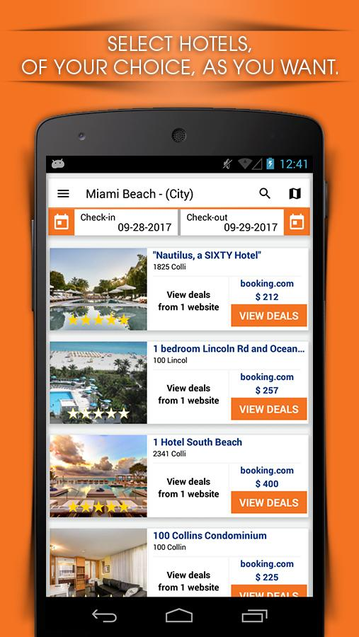 RateCompares - Find Cheap and Best Hotel Deals- screenshot