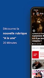 20 Minutes – l'actualité en continu 6.2.2 Mod + Data Download 1