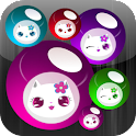 Lily Kitty Ball Live Wallpaper icon