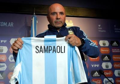 """Sampaoli a été présenté : """"J'en avais toujours rêvé"""""""