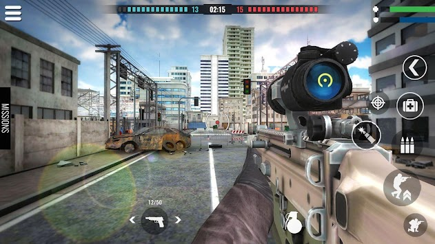 Country War : Battleground Survival Shooting Games apk screenshot