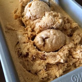 Pumpkin and Pecan Ice Cream