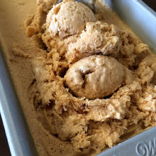 Pumpkin and Pecan Ice Cream.