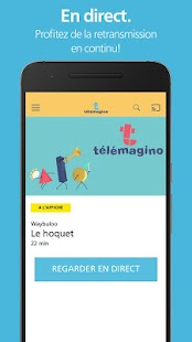 L'application Télémagino- screenshot thumbnail