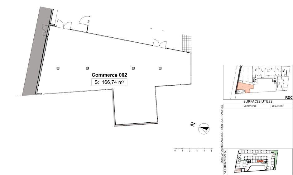 Vente locaux professionnels  165 m² à Le tampon (97430), 622 000 €
